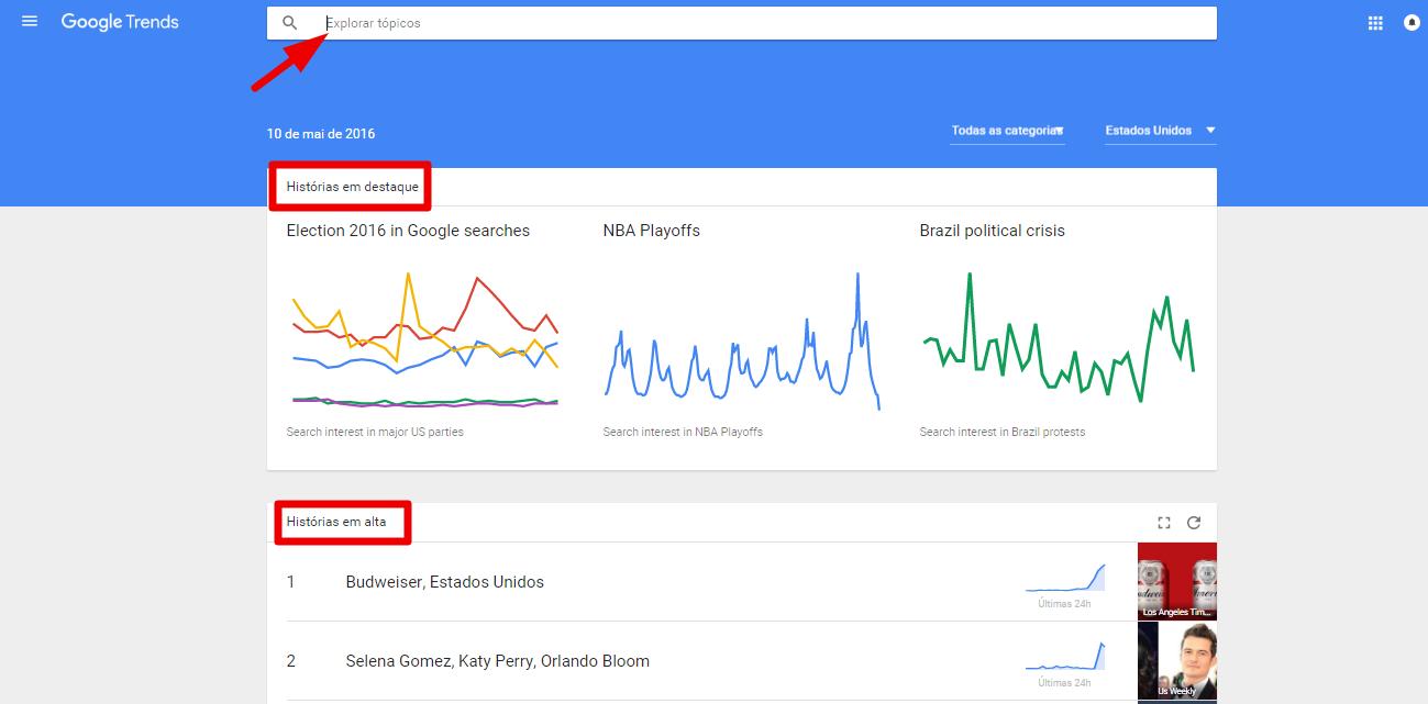 Google Trends - google tools