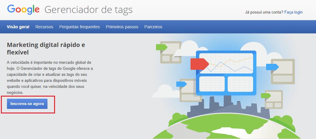 O que é Google Tag Manager?- o que é seo, guia enterprise para chegar na primeira pagina do google - webpeak