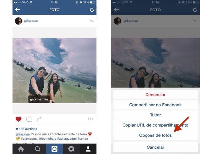 Ocultar Foto no Perfil do Instagram