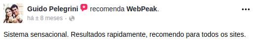 webpeak é bom