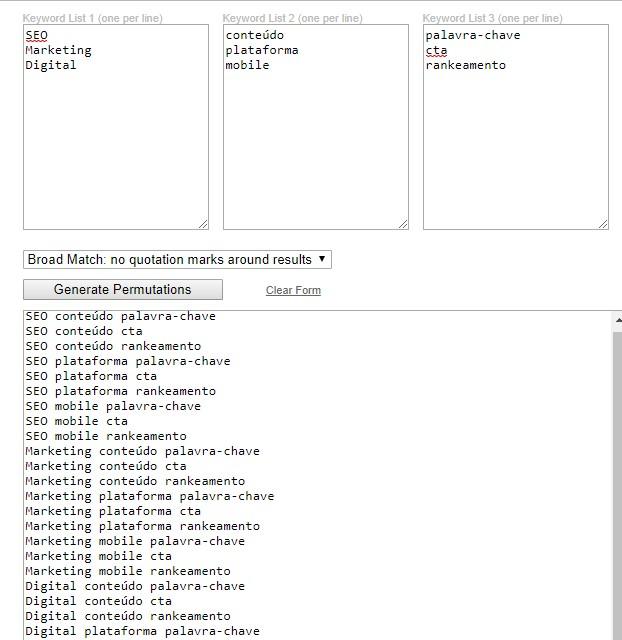 ferramentas grátis de pesquisa de palavra-chave