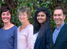 Image of our four Licensed Immigration Advisers at NZIC