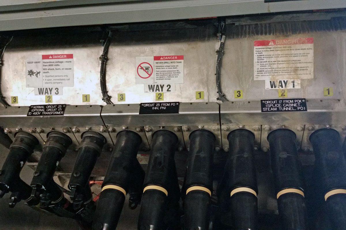 Washington State Capital Campus Sid Snyder Medium Voltage Project