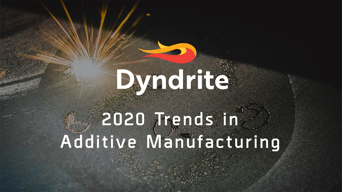 2020 Will Mark a Turning Point in Additive Manufacturing.