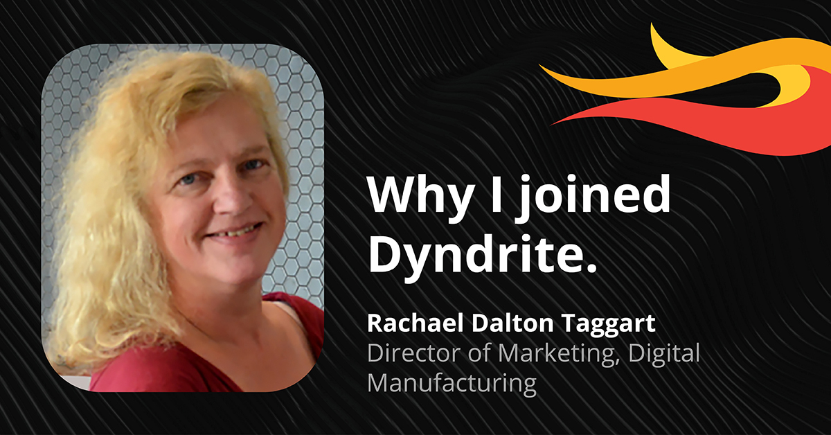 Why I Joined Dyndrite