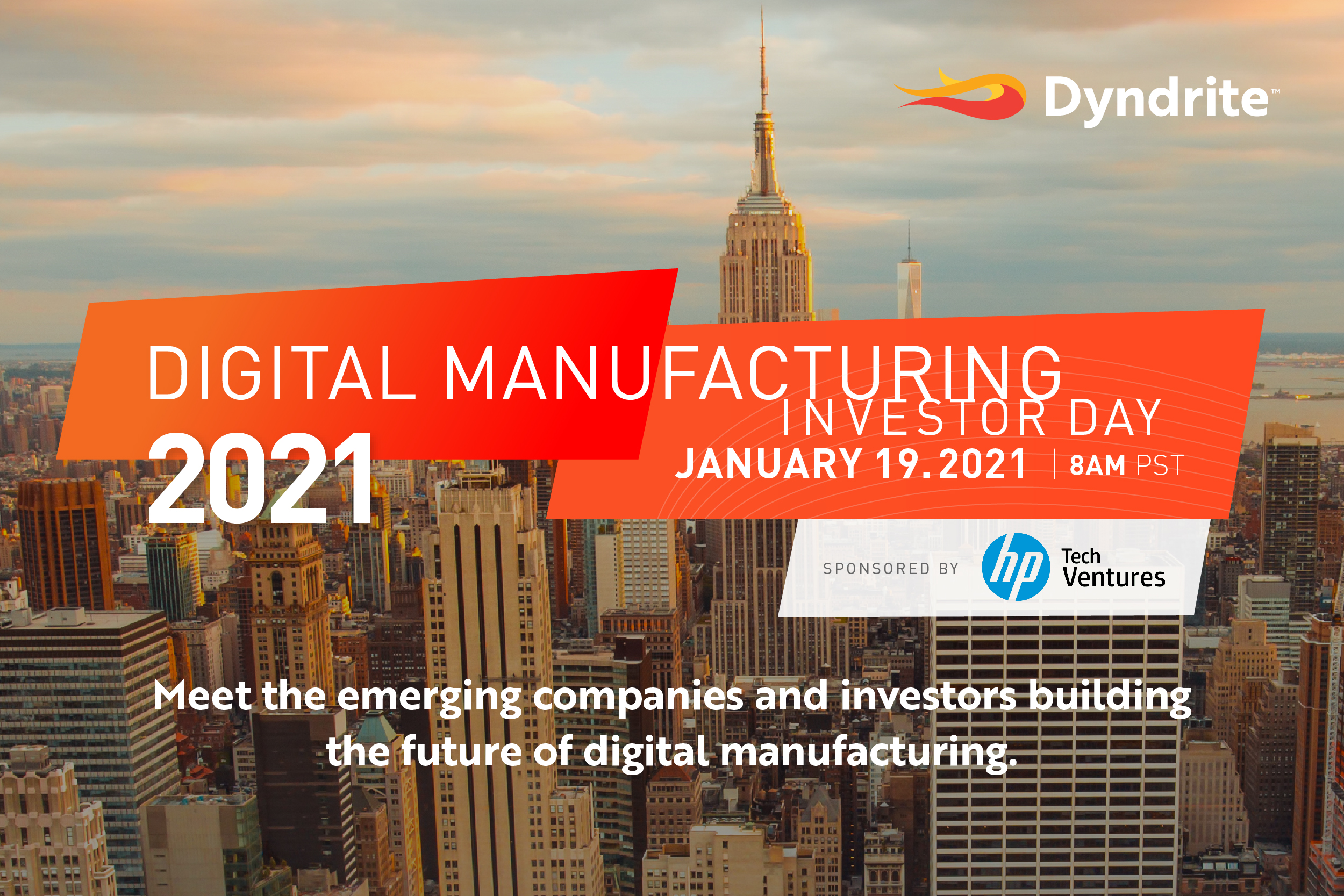 Announcing Digital Manufacturing Investor Day 2021