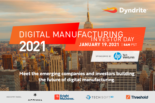 Digital Manufacturing Investor Day 2021 - Start the Year Right