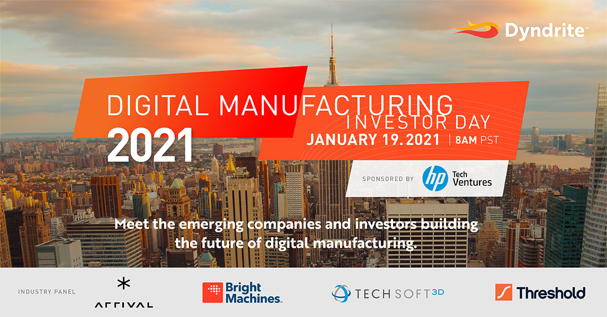 Investing in Digital Manufacturing Technology – the Time is Now