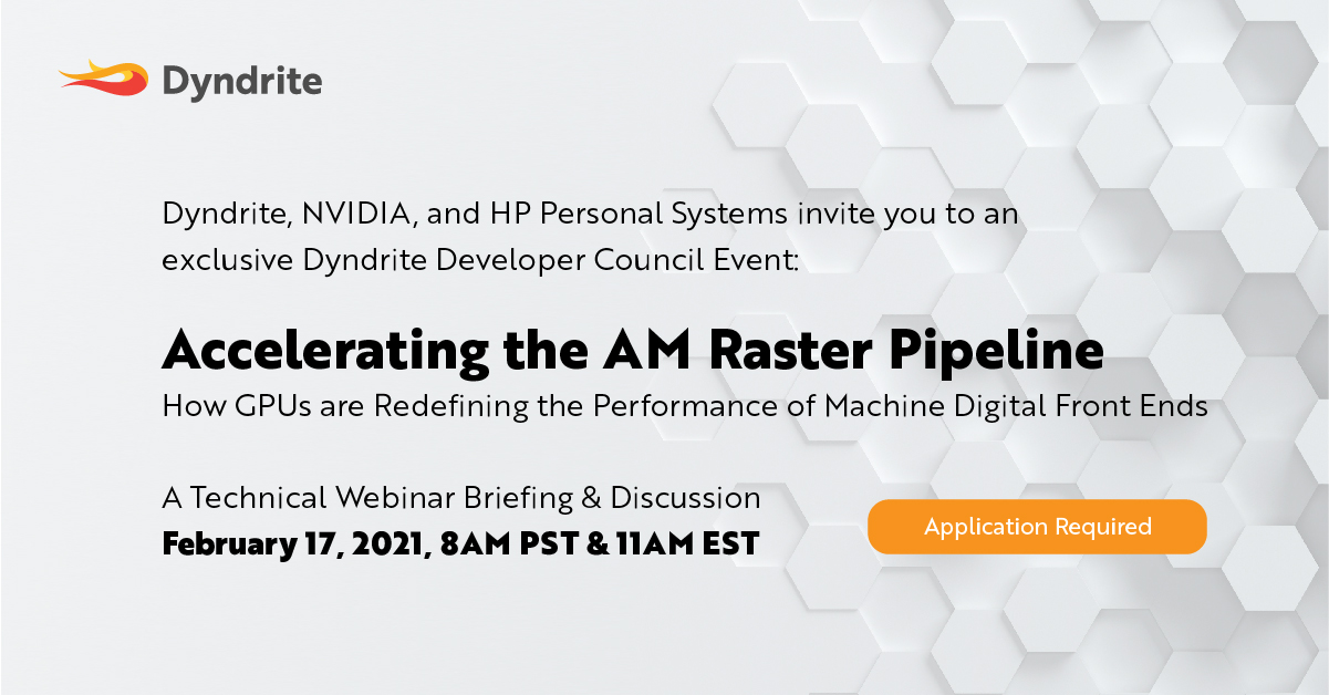 Accelerating the AM Raster Pipeline