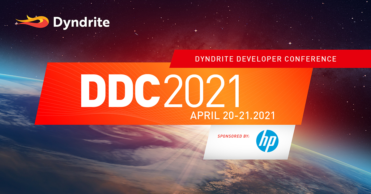 Announcing Dyndrite Developer Conference 2021