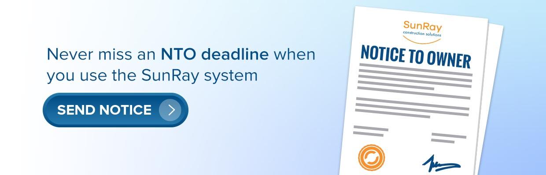 NTO deadline