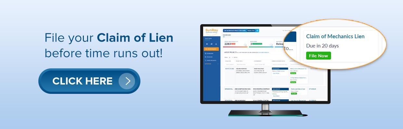 Claim of Lien