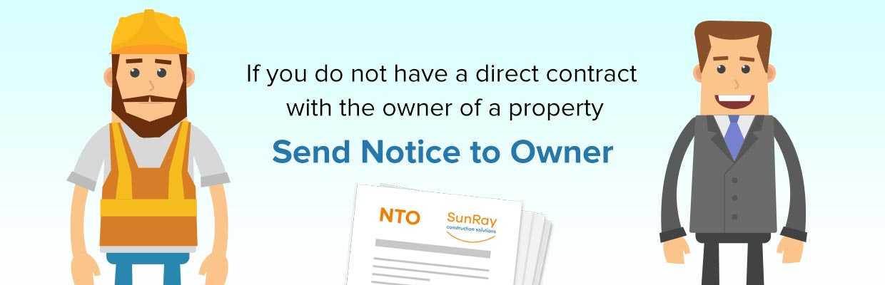 Send Notice to Owner