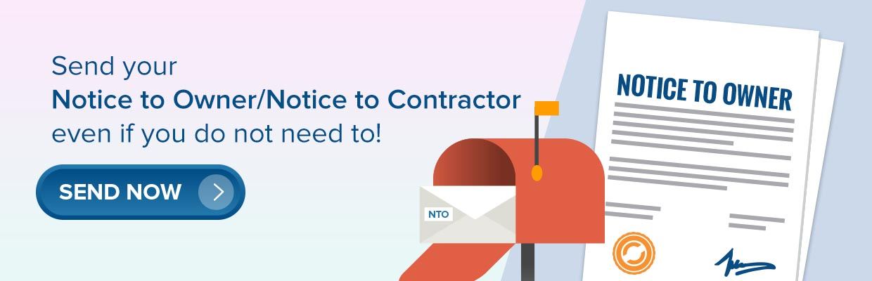 Notice to Owner/Notice to Contractor