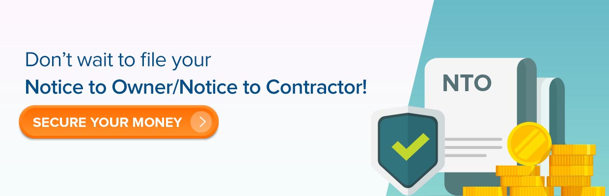 Notice to Contractor (NTO)