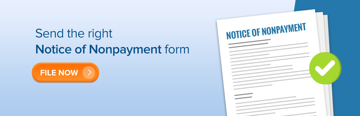 Notice of Non-Payment