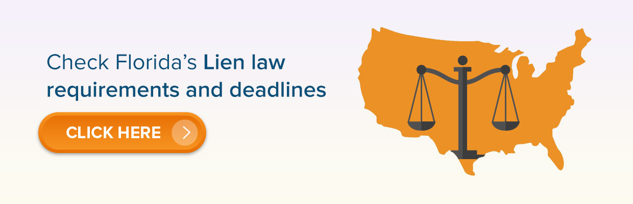 Lien law requirements and deadlines