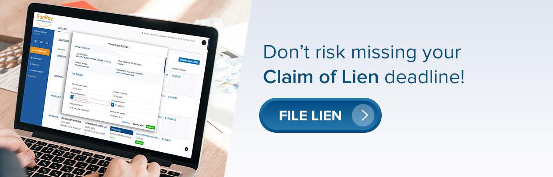 File a Lien