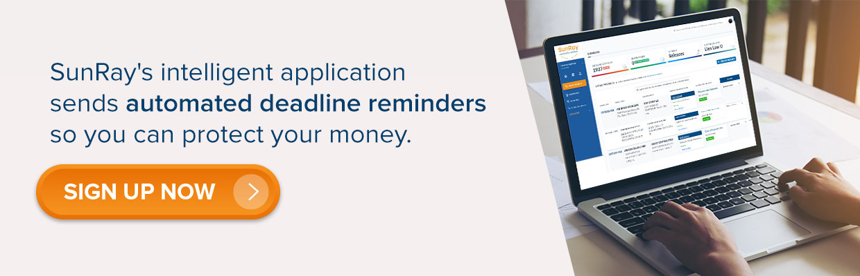 deadline reminders