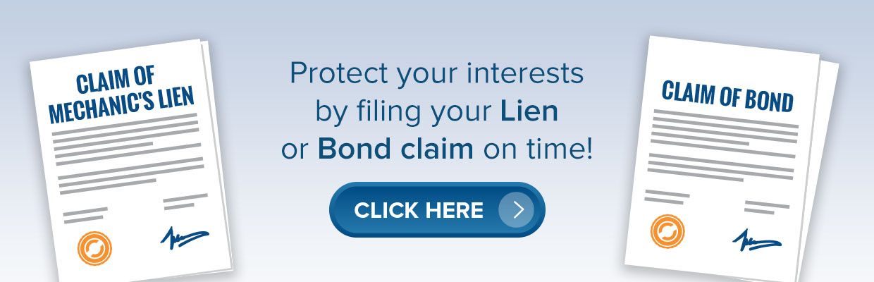claim of bond & lien