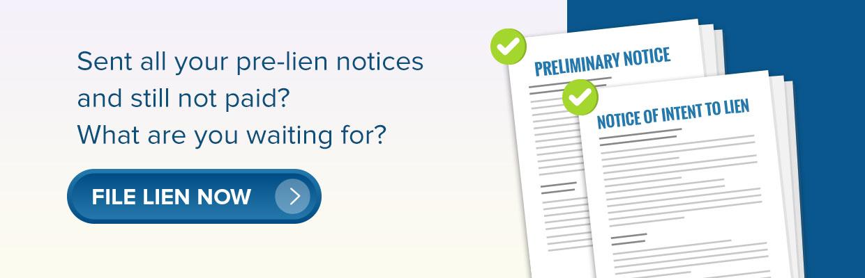 pre-lien notices