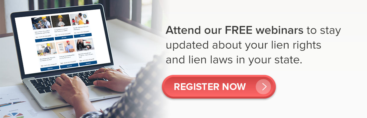 lien rights and lien laws