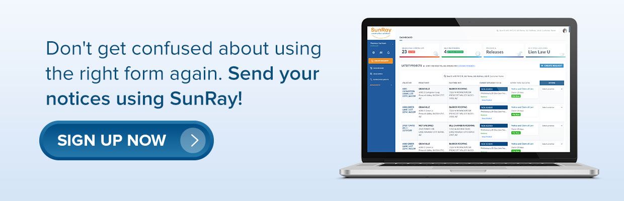 send your notices with SunRay