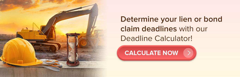 SunRay deadline calculator