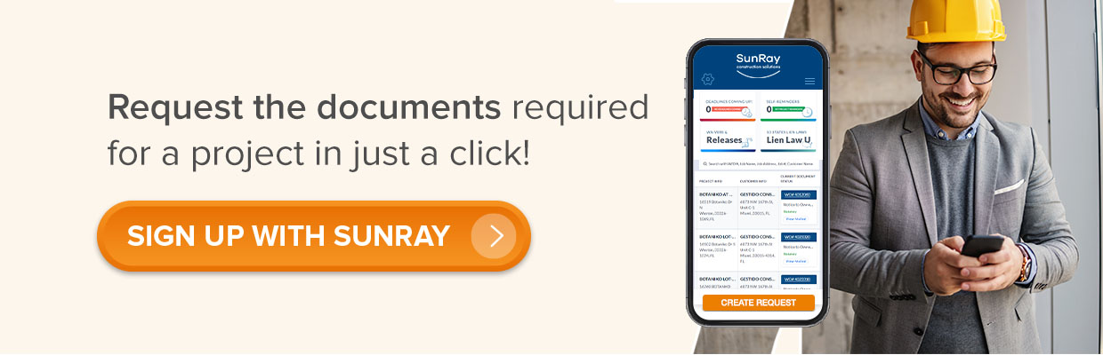 SIGN UP with SunRay