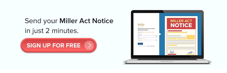 Miller Act Notice