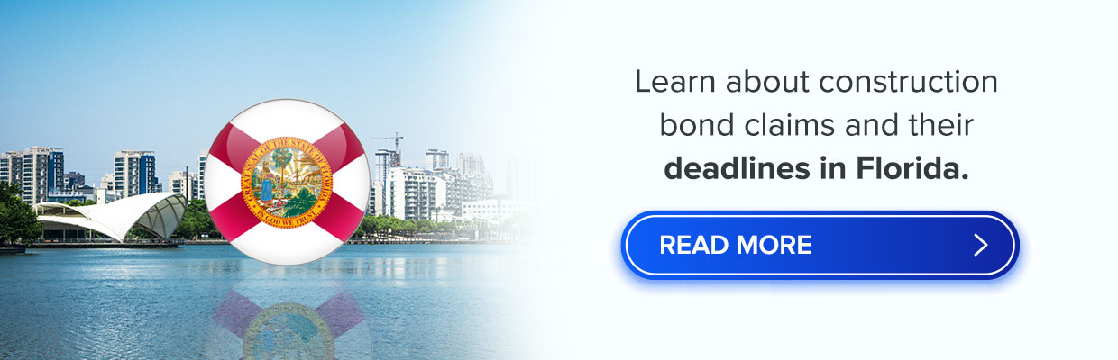Bond claims and deadlines in Florida