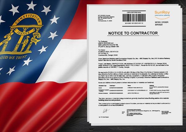 Georgia - Notice to Contractor, Lien and Bond Claim Refresher (With pro-tips) - Webinar