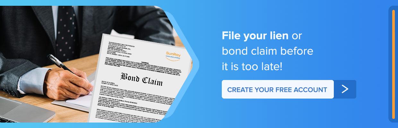 construction bond claim
