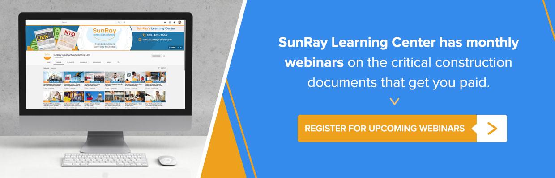 SunRay Construction Documents