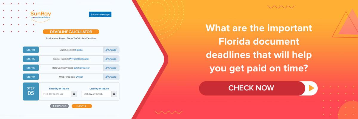 florida document deadlines