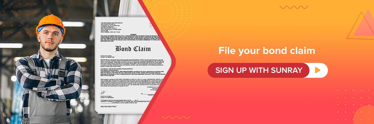 bond claim