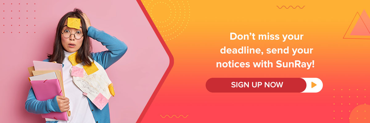 don't miss your deadlines