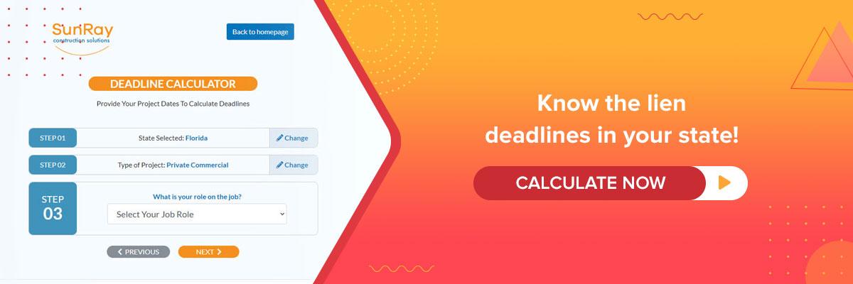 SunRay - deadline calculator