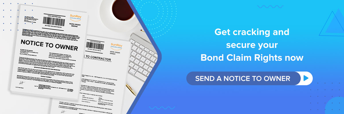 secure your Bond Claim Rights