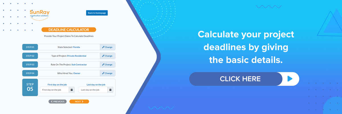 calculate project deadlines
