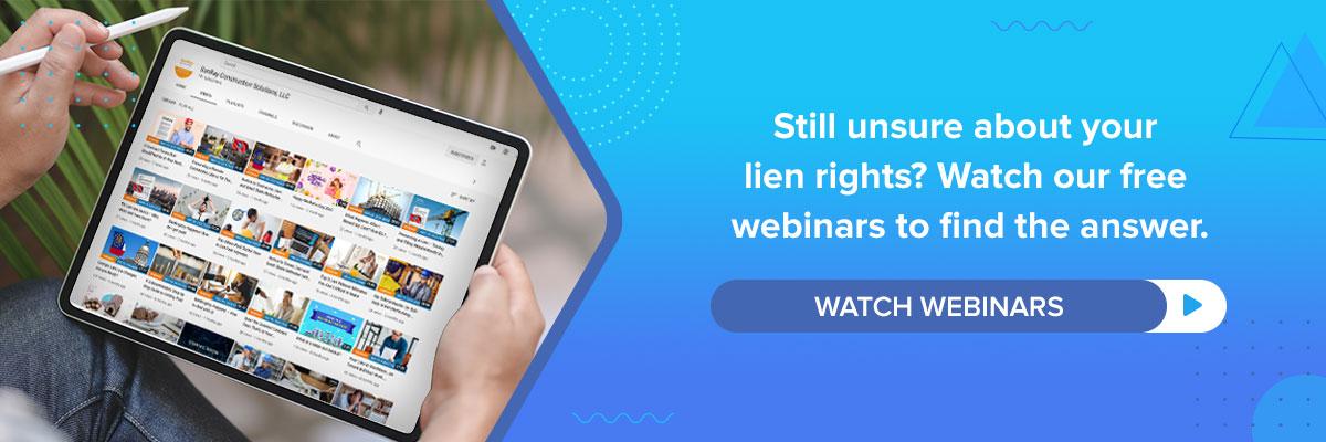 Watch Webinars