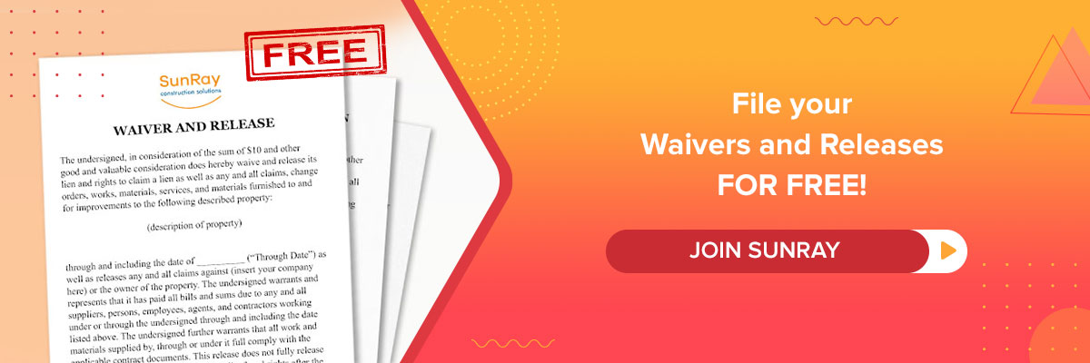 waiver and release upon progress payment