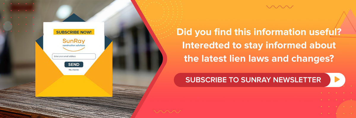 Subscribe to SunRay Newsletter