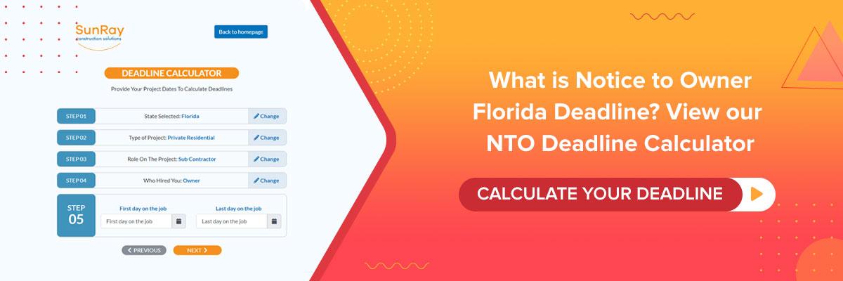 NTO Deadline Calculator