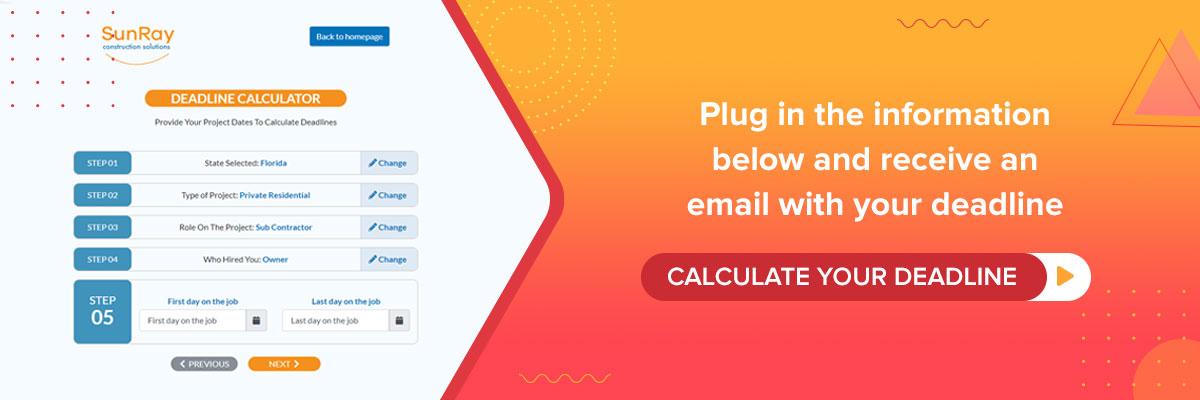 calculate your NTO deadline