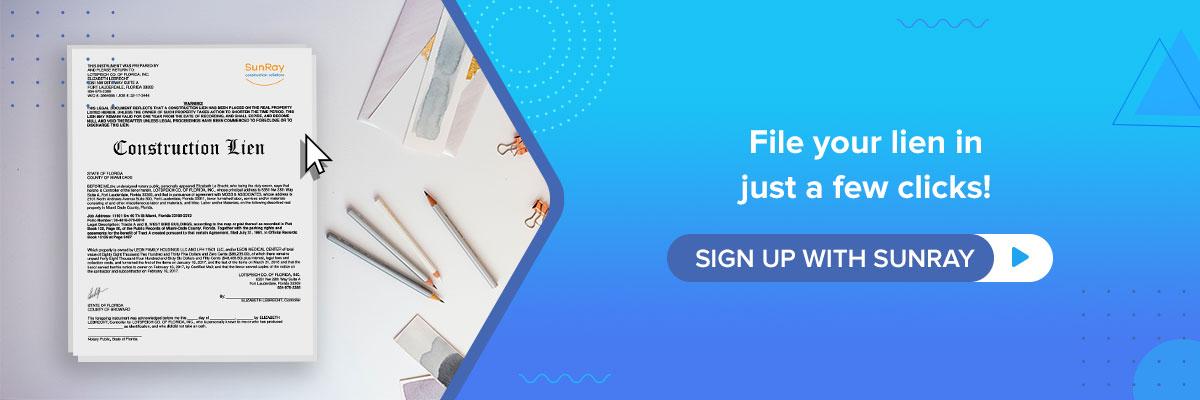 file your lien