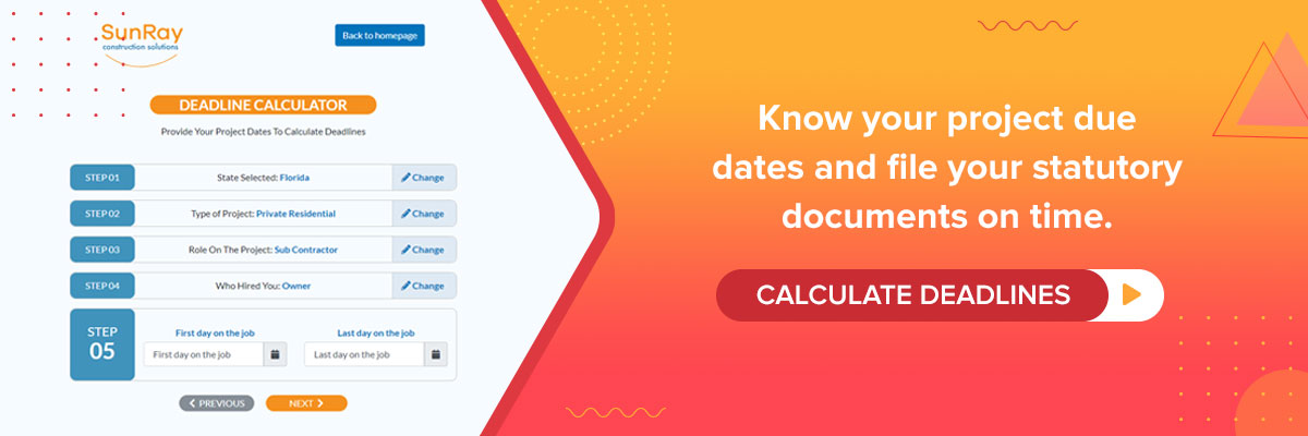 calculate deadlines