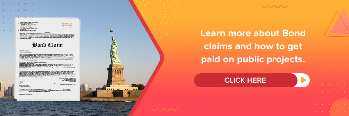 learn about bond claims