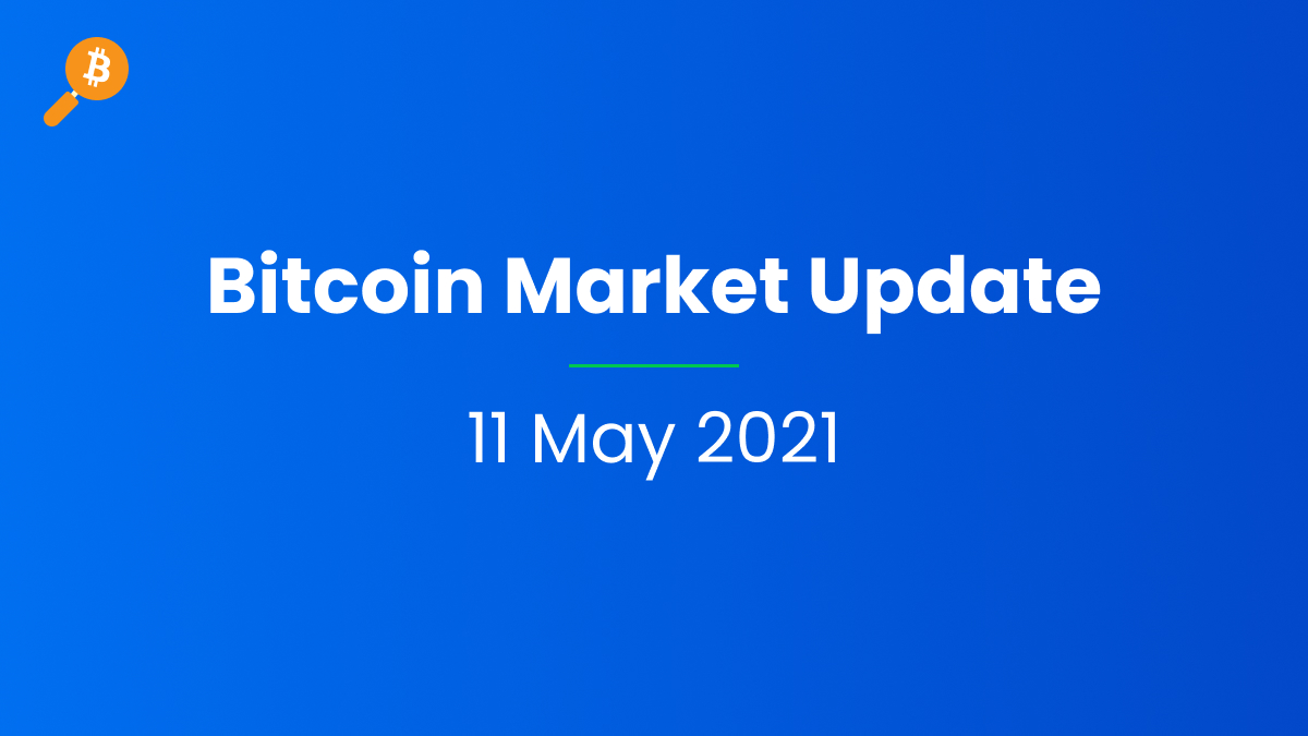 Bitcoin Market Update - 11 May 2021