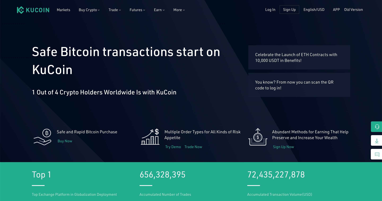 Kucoin extensive price API
